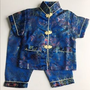 Traditional Chinese Pant Suit
